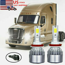 For 2013 2014 2015 2016 FREIGHTLINER Cascadia Truck Headlight LED Bulbs 6500K