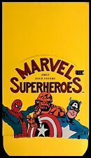 1984 FTCC Marvel Superheroes - 1st Issue Covers - Empty Display Box - EXCELLENT