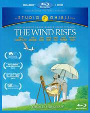 The Wind Rises by Studio Ghibli (Blu-ray/DVD, 2014, 2-Disc Set)