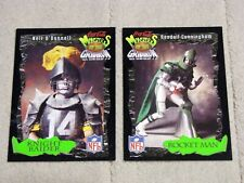 Lot (2) 1994 Coke Monsters of the Gridiron #24 Cunningham & #25 O'Donnell