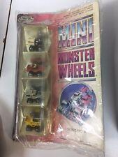 Road Champs - Mini Monster Wheels Series No. 4. In original Packaging.