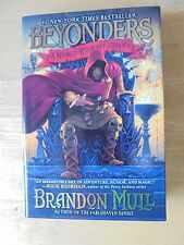 Beyonders: A World Without Heroes by Brandon Mull 2011 Hardcover Book NEW