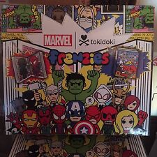 tokidoki Marvel frenzies series  case of 24 blind box