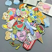 10 Pcs Mixed Random Iron On Patches For Clothing Sweater T-Shirt Applique Sewing