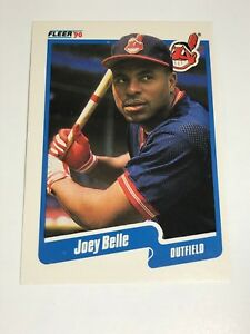 1990 Fleer Baseball - Joey Belle - Card # 485 - Rookie Card