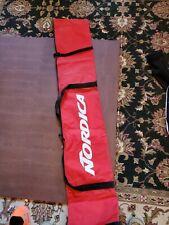 Red Nordica Ski Travel Carry Bag