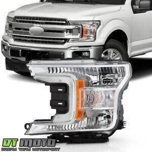 2018-2019 Ford F150 Pickup Truck Halogen Type Headlight Headlamp LH Driver Side