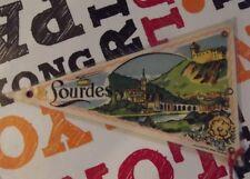 Ancien Drapeau Fanion Lourdes
