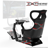 Extreme Simracing Wheel Stand COCKPIT X Racing Simulator Logitech, Thrustmaster