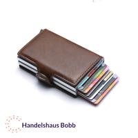 Kreditkartenetui mit RFID Schutz smarter Geldbeutel Geldbörse Portemonnaie