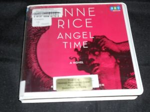 """Unabridged Audiobook on 7-CDs: """"Angel Time"""" by Anne Rice X-Library Copy"""