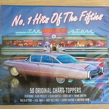 2CD NEW - No.1 HITS OF THE FIFTIES - Pop Rock 50s Music 2x CD Album - 50 Songs