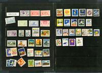 Sweden Stamp Old Time Labels 1940's vintage Lot