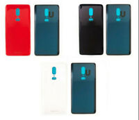 For OnePlus 6 1+6 Rear Glass Door Back Battery Cover With Adhesive Replace BT02