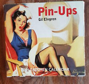PIN UP ART: Pin-ups Gil Elvgren 2004 Calendar - Day by Day Desk by Taschen