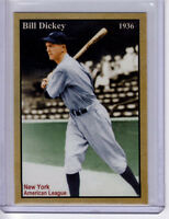 Bill Dickey, '36 New York Yankees HOF catcher, rare limited edition