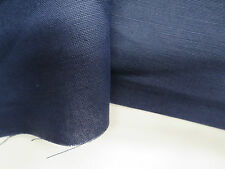 Fabricut Fabric Pattern Oath Color Midnight 1 Yd x 54 In Linen Cotton Upholstery