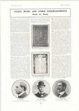 1902 Lew Rosen Aubrey Smith M Lugne-poe Coronation Ballet