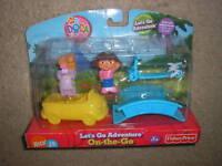 New Dora the Explorer Let's Go Adventure On the Go