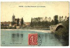 CPA 39 Jura Dole Le pont Romain sur le Doubs