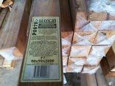 CYPRESS GOLD 90x90x3.0m K/D F7 POST 4 TREATED PINE MERBAU DECKING PERGOLA FENCE