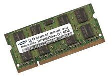 2gb di RAM ddr2 memoria RAM 800 MHz Samsung N series NETBOOK n150 PLUS pc2-6400s