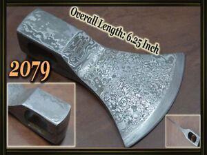 "6.25""Custom made Damascus steel hatchet axe head ,knife making suppliers 2079"
