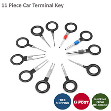 11Pcs Terminal Removal Tool Car Plug Circuit Wire Extractor Pin Connector Key AU