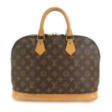 LOUIS VUITTON Monogram Alma Hand Bag Brown M51130 Purse 90101845