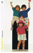 Dolly Mixtures Knitting Pattern, 3 pulls-Marshall Cavendish brochure KK13