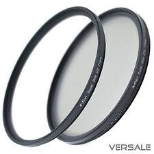 Uv + cpl filtre 67mm super slim caméra objectif ø 67 mm Filetage Cadre fin