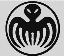 """James Bond Spectre Spider Alien Decal Sticker 4""""x 4"""" Inches"""
