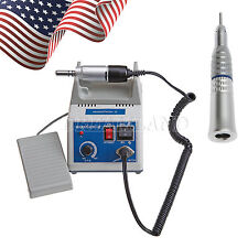 Dental Lab Marathon Electric Micro Motor & Straight Nosecone Handpiece USA! Q9TP