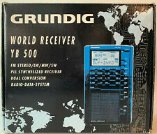 GRUNDIG WORLD RECEIVER YB 500  FM/LW/MW/SW/AM RADIO NEW IN ORIGINAL BOX