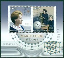 2016 Marie Curie M/S 2 values MNH physics medicine
