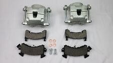 GM metric front disc brake calipers with zinc wash md154 brake pads easy clean