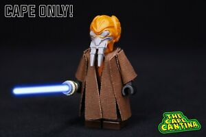 for LEGO Star Wars Revenge Of The Sith Jedi Master Plo Koon Cloak Cape Custom