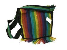 New Rainbow Hippie Boho Festival Cotton Unisex Bag