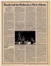 Randy Newman Interview/article 1974 HJKL