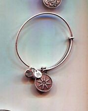 venus flower bracelet Alex & Ani silver