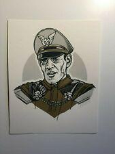 Tyler Stout M. Bison Street Fighter Raul Julia Art Print Handbill