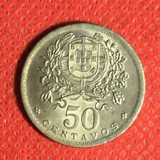 Portugal; 1947; 50 Centavos; KM-577; I Graded It MS; #244