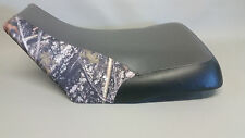 HONDA TRX500 seat Cover 2003 2004 Rubicon in 3-tone GRAY/CONCEAL/BLACK  (ST)