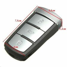 3 BUTTON Key Keyless Entry Fob FOR VW Passat CC Magotan + logo A69