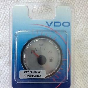 NOS VDO Viewline Sterling Fuel Gauge 12V