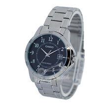 -Casio MTPV004D-1B Men's Analog Metal Watch New & 100% Authentic