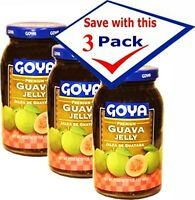 Goya Guava Jelly 17 oz, Pack of 3
