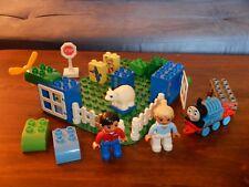 Lot Lego Duplo Polar Bear, Thomas Train, People, Green Board, Dora, Windows
