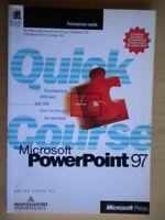 Microsoft Powerpoint '97PressMondadoriquick courseinformatica software nuovo