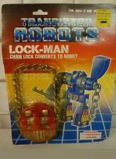 VINTAGE 1985 FOUR STAR TRANSISTOR ROBOTS LOCK-MAN TRANSFORMER BRAND NEW padlock